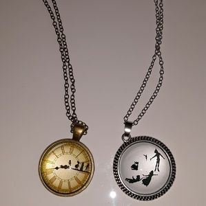 New peter pan necklaces Neverland